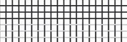 White-black fibreglass mesh