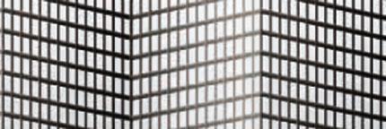 Black pleated mesh