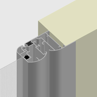 Z-shaped frame
