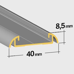 Lower rail 8,5mm